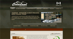 Preview of cedarland.ca